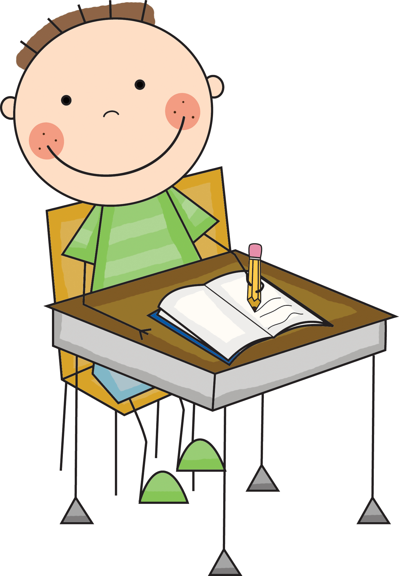 Images Of Children Writing
