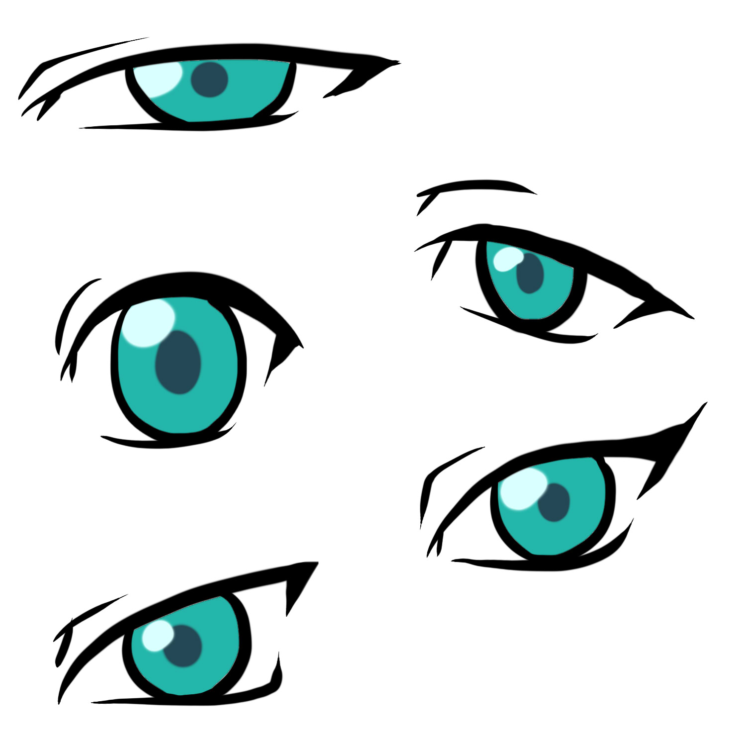Scared Anime Eyes – HD Wallpaper Gallery