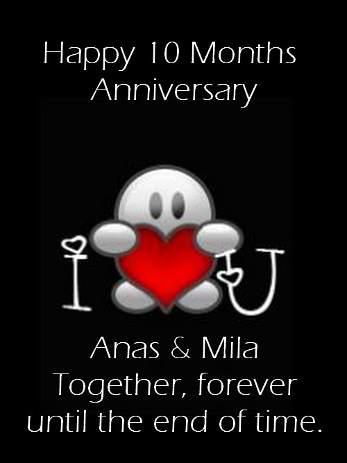 10 Month Anniversary Quotes : month, anniversary, quotes, Happy, Months, Anniversary,, Baby,, ™�, Camila, Cliparts.co
