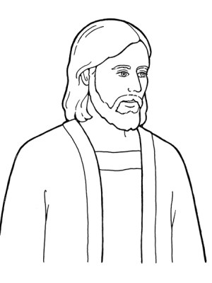 jesus christ drawing lds god primary clipart savior cliparts line singing loves know son library amazing reading magic coloring easy