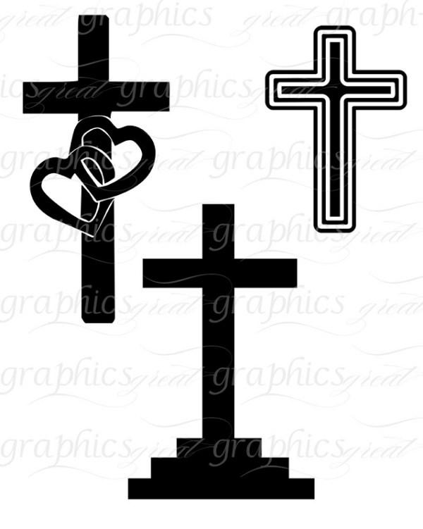 cross printable clipart