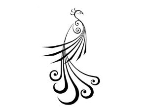 peacock simple drawing cliparts colorful drawings line easy lines wood burning sketches pencil designs clipart tattoo stencil abstract indian