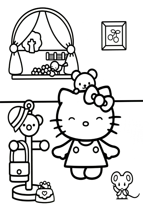 Free coloring pages of brush your teeth