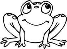 Cartoon Frog Drawings Clipartsco