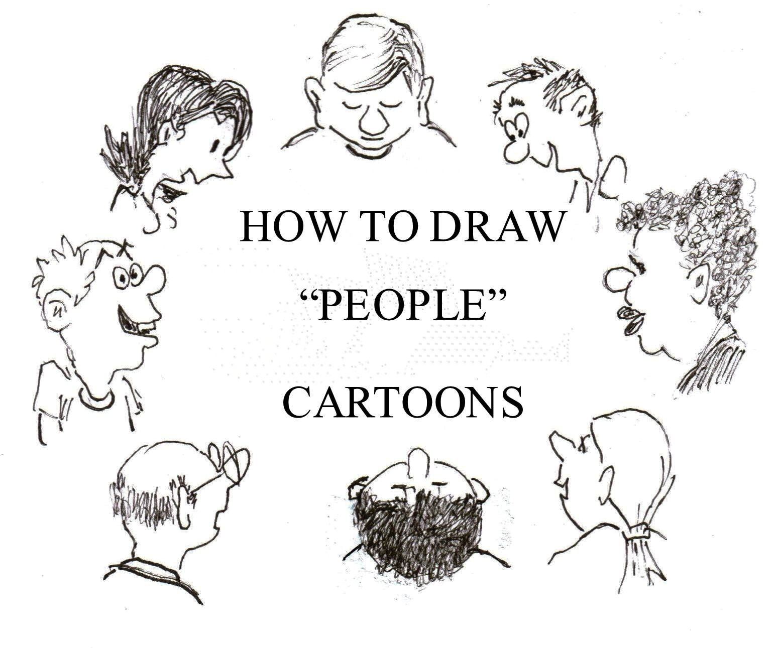 How To Draw A Cartoon Person