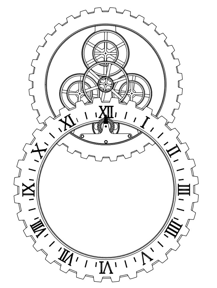 Steampunk Air Balloon Coloring Pages