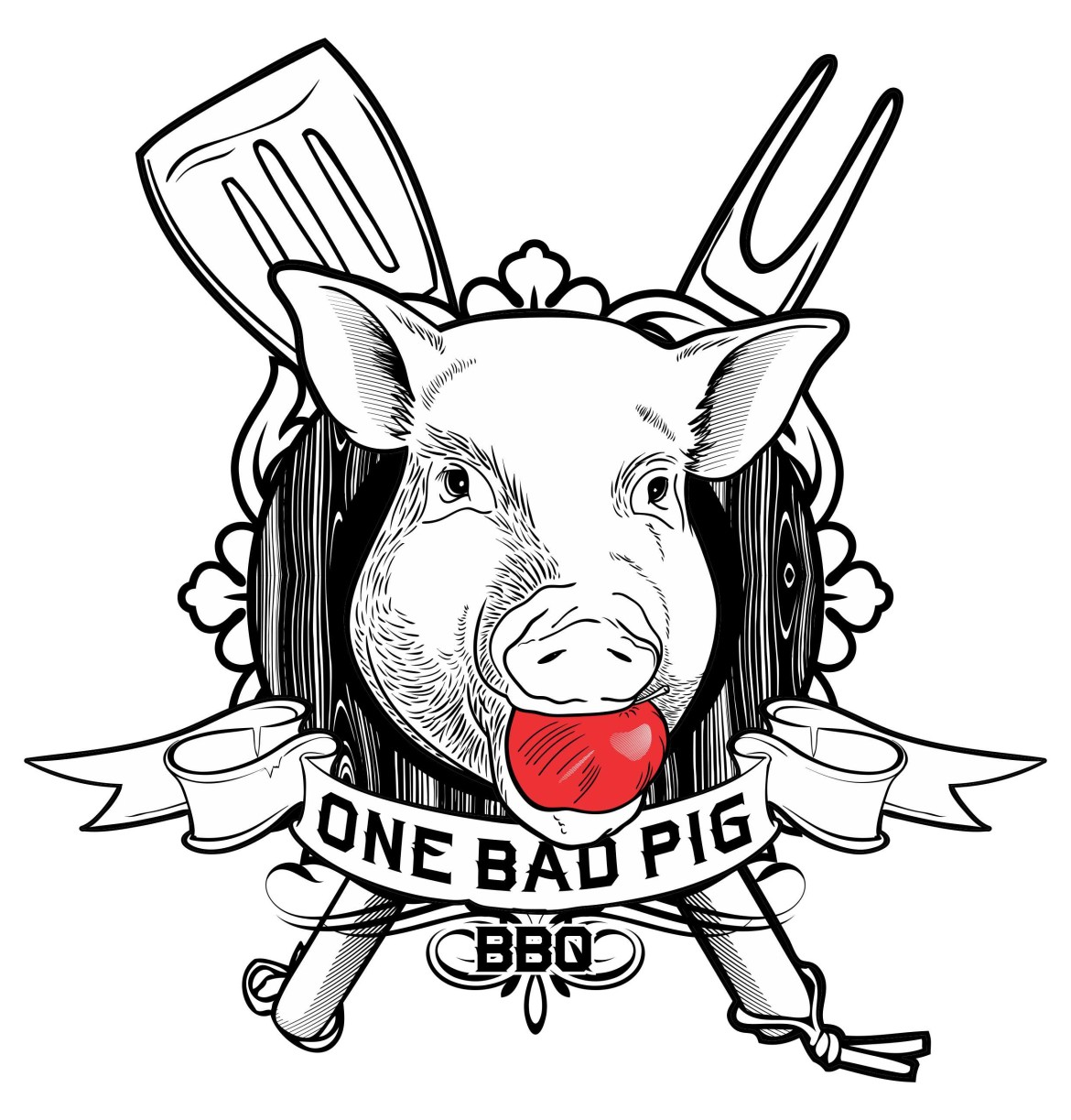 Bbq Pig Logo