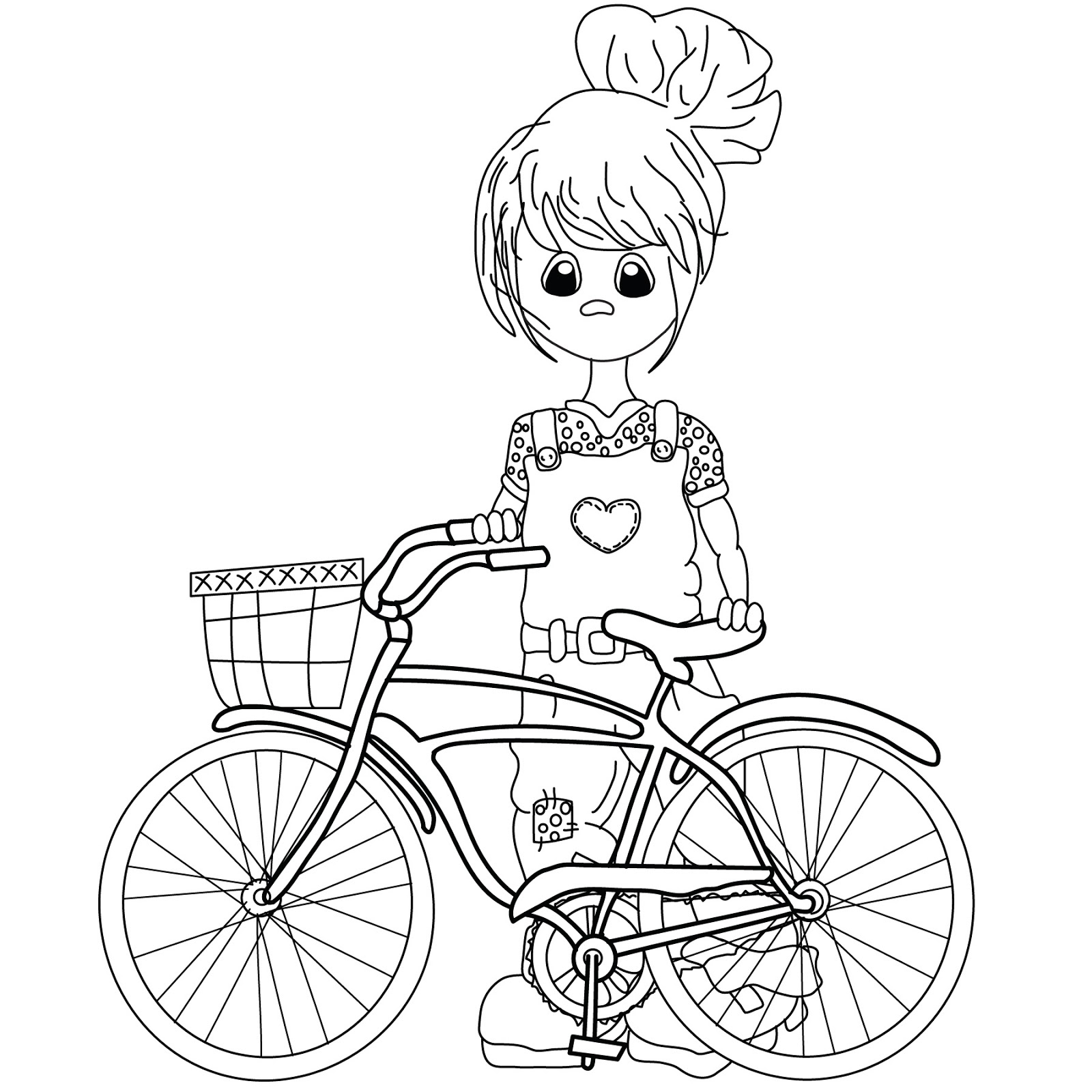 How To Draw A Bike For Kids