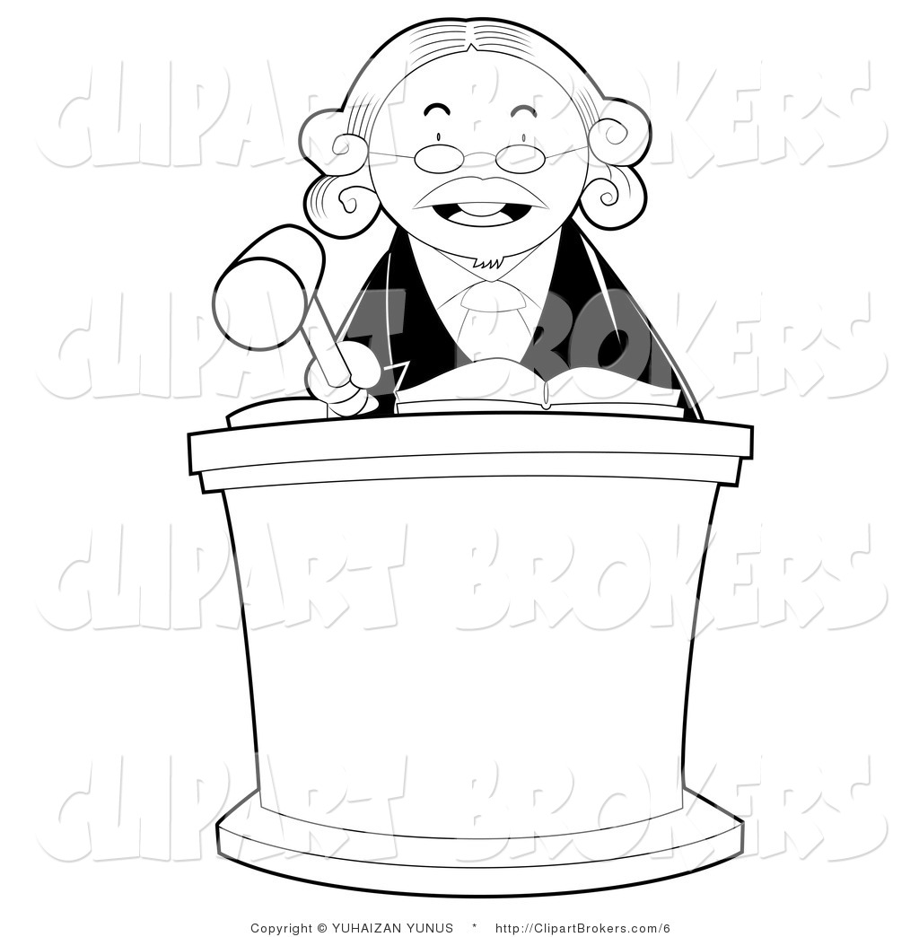 Pictures Of Judges Clipart