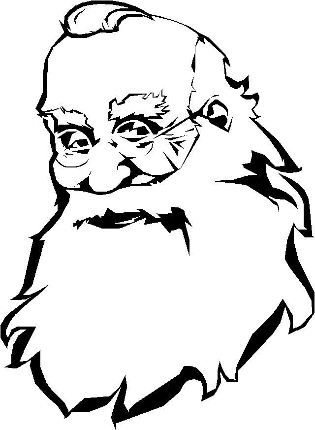 santa face picture  cliparts.co
