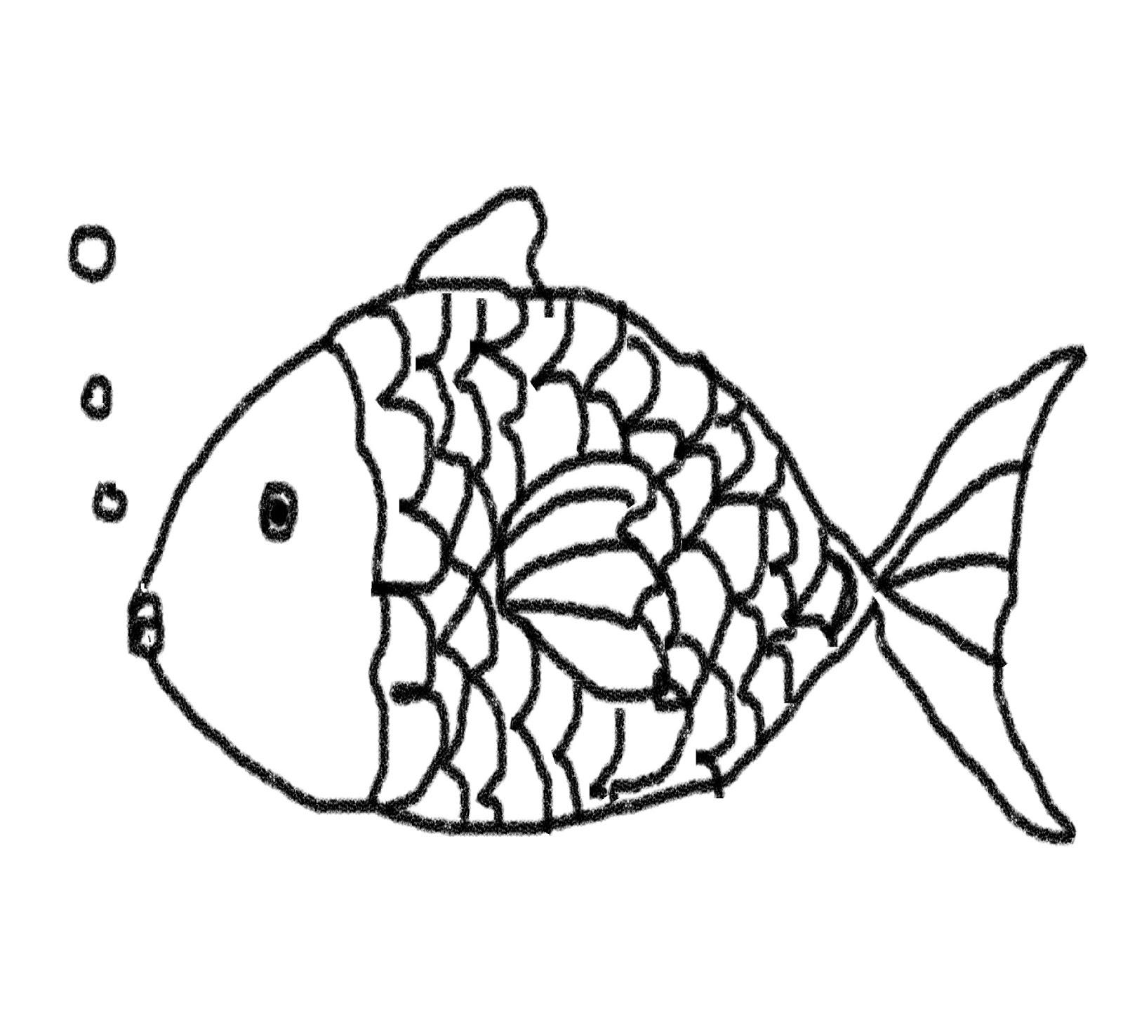 Fish Line Drawings