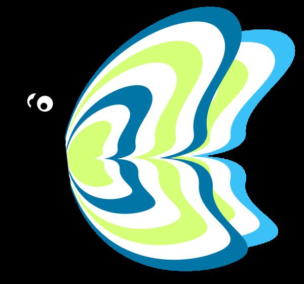 Cartoon Butterflies Clip Art