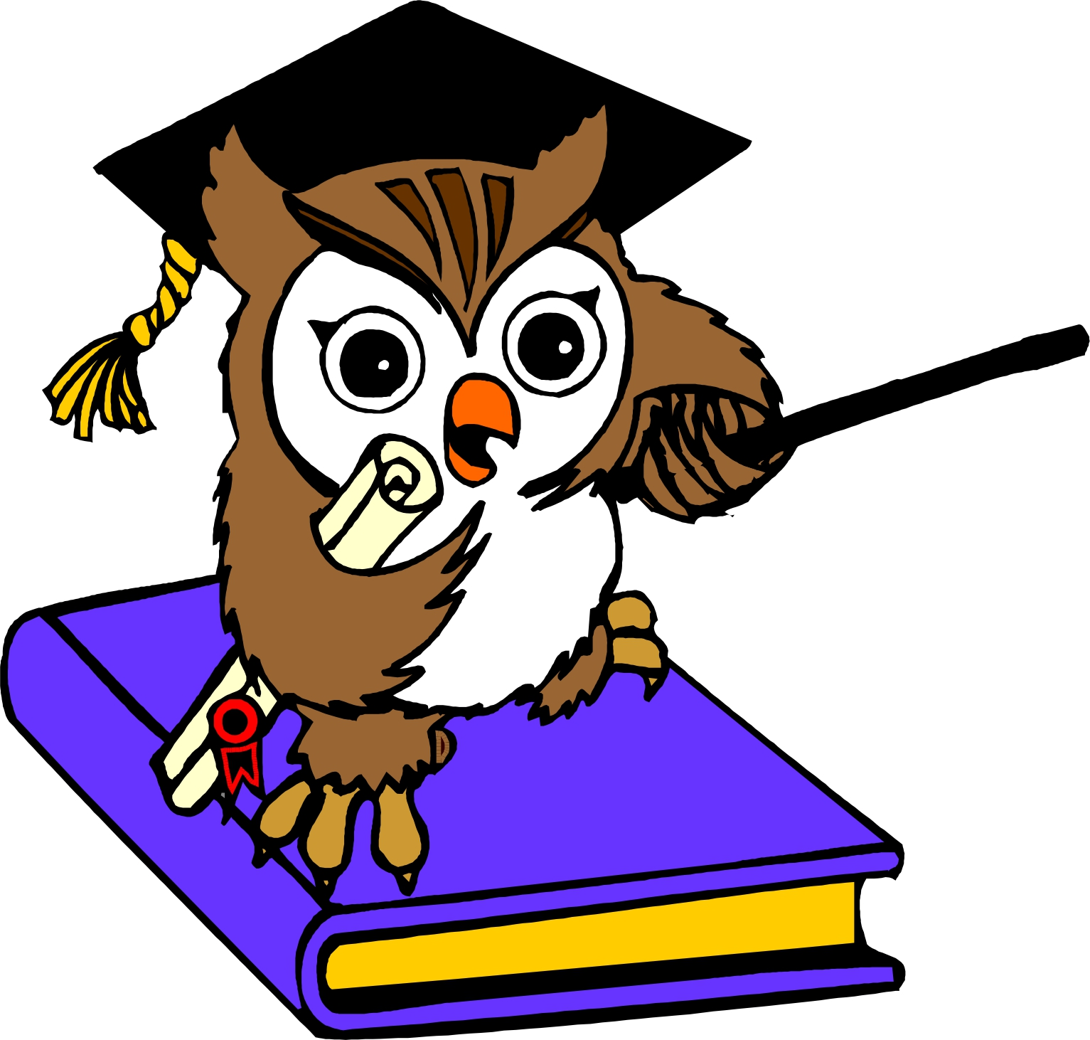 hight resolution of cartoon owls clipart best