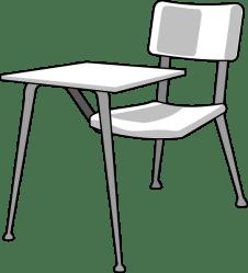 Cartoon Student Desk Cliparts co
