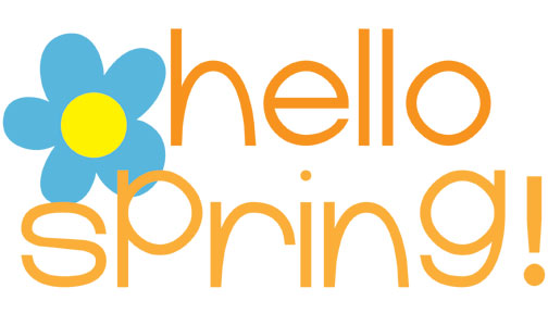 Happy Spring Banner Clip Art