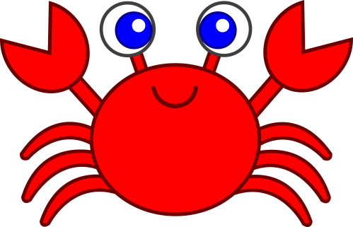 small resolution of free crab clipart