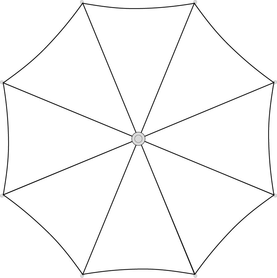 large umbrella template Gallery