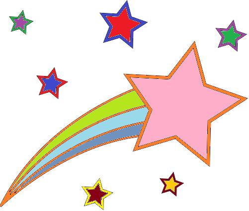 shooting star graphics