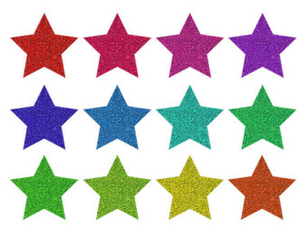 twinkling stars clipart