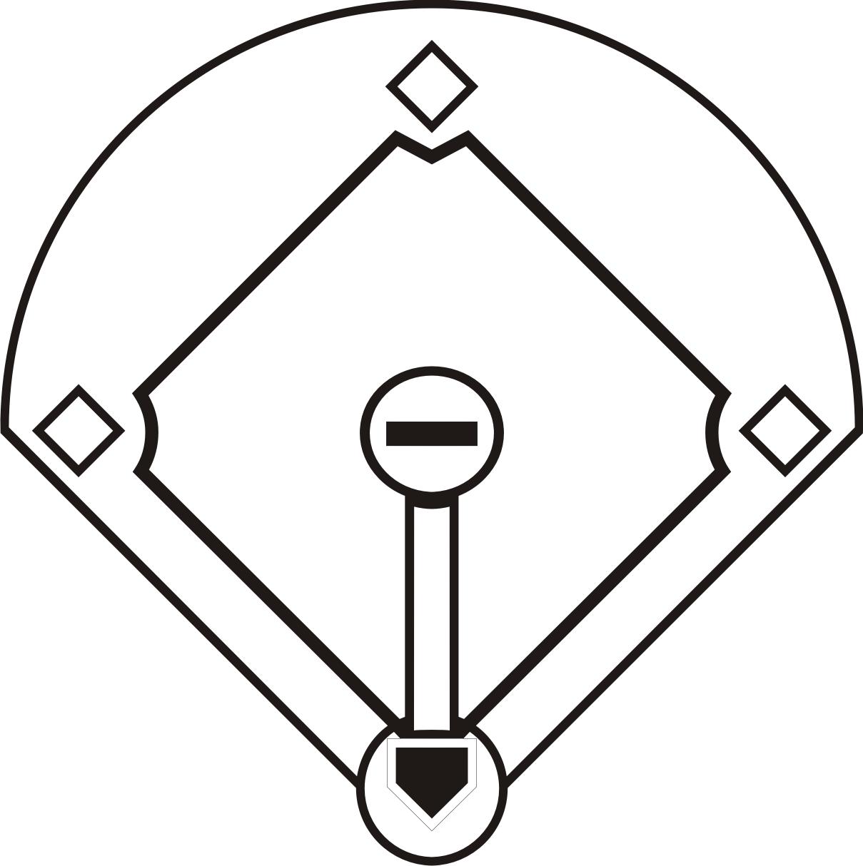 Softball Field Clipart