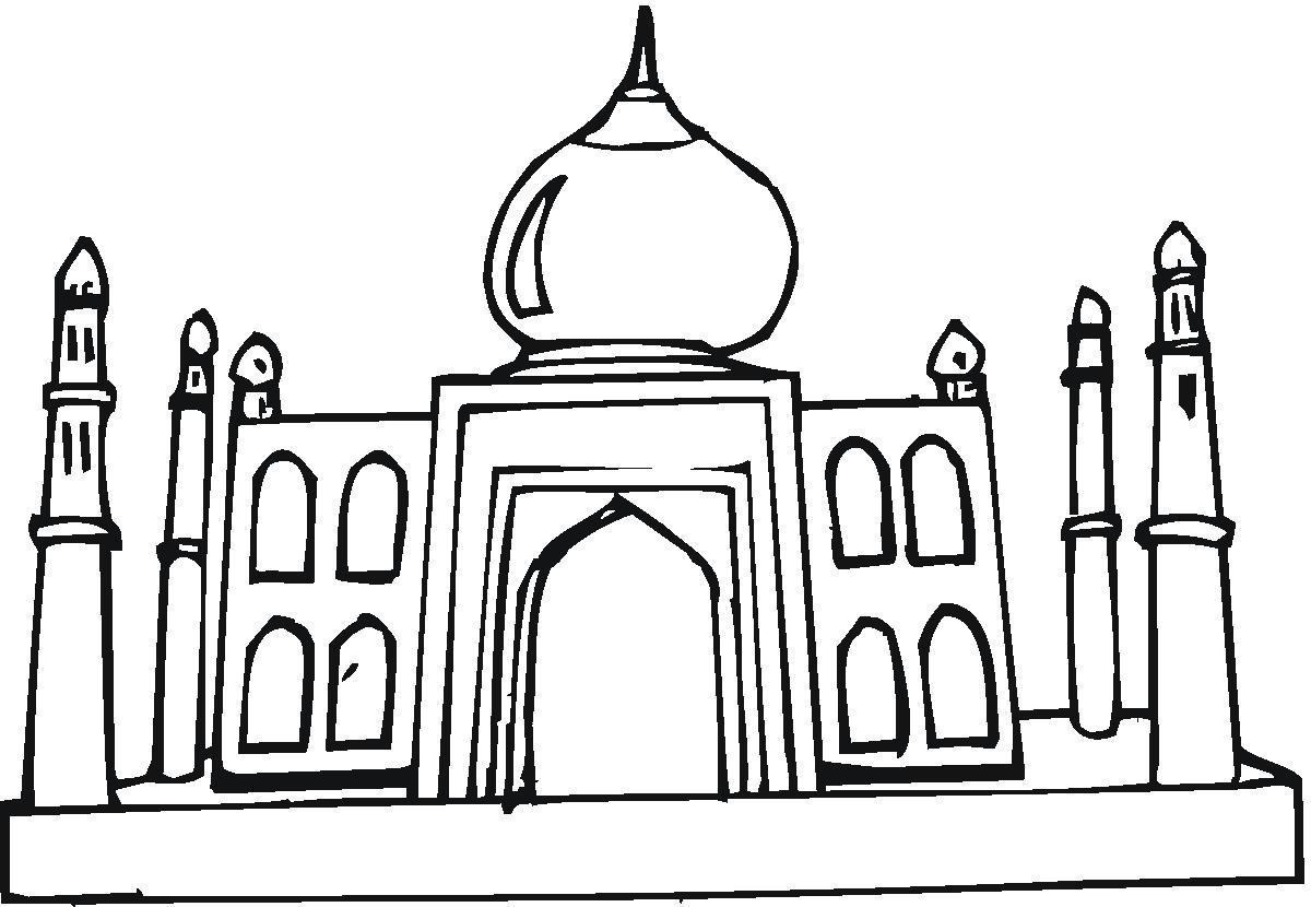Clip Art Taj Mahal