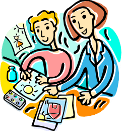 discovery school free clip art science fair school clipart [ 864 x 958 Pixel ]