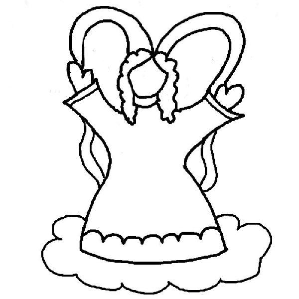 printable angel wings