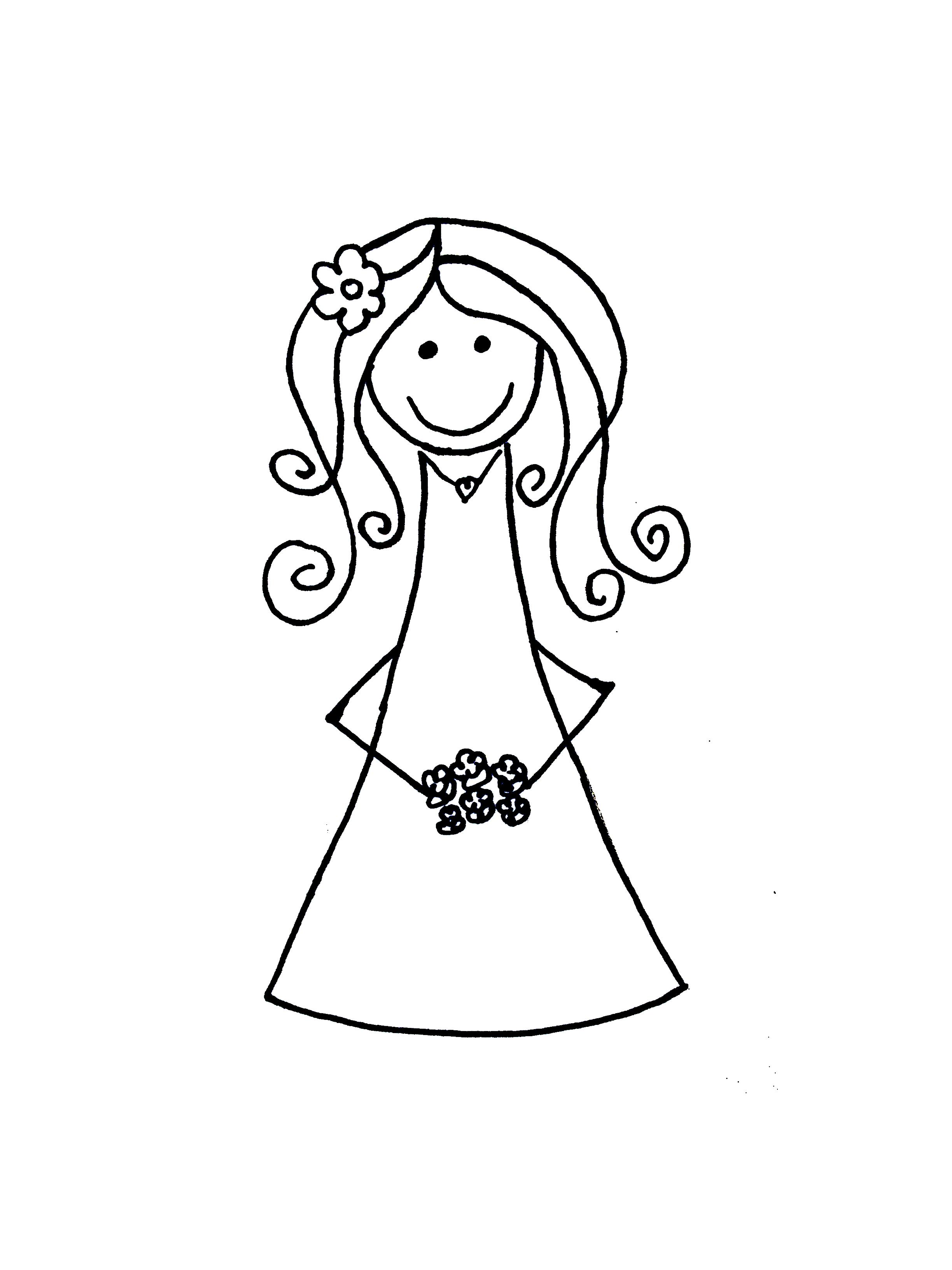 Bride Cartoon Clip Art