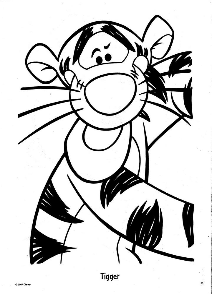 Malvorlage Iah Winnie Pooh - Malvorlagen
