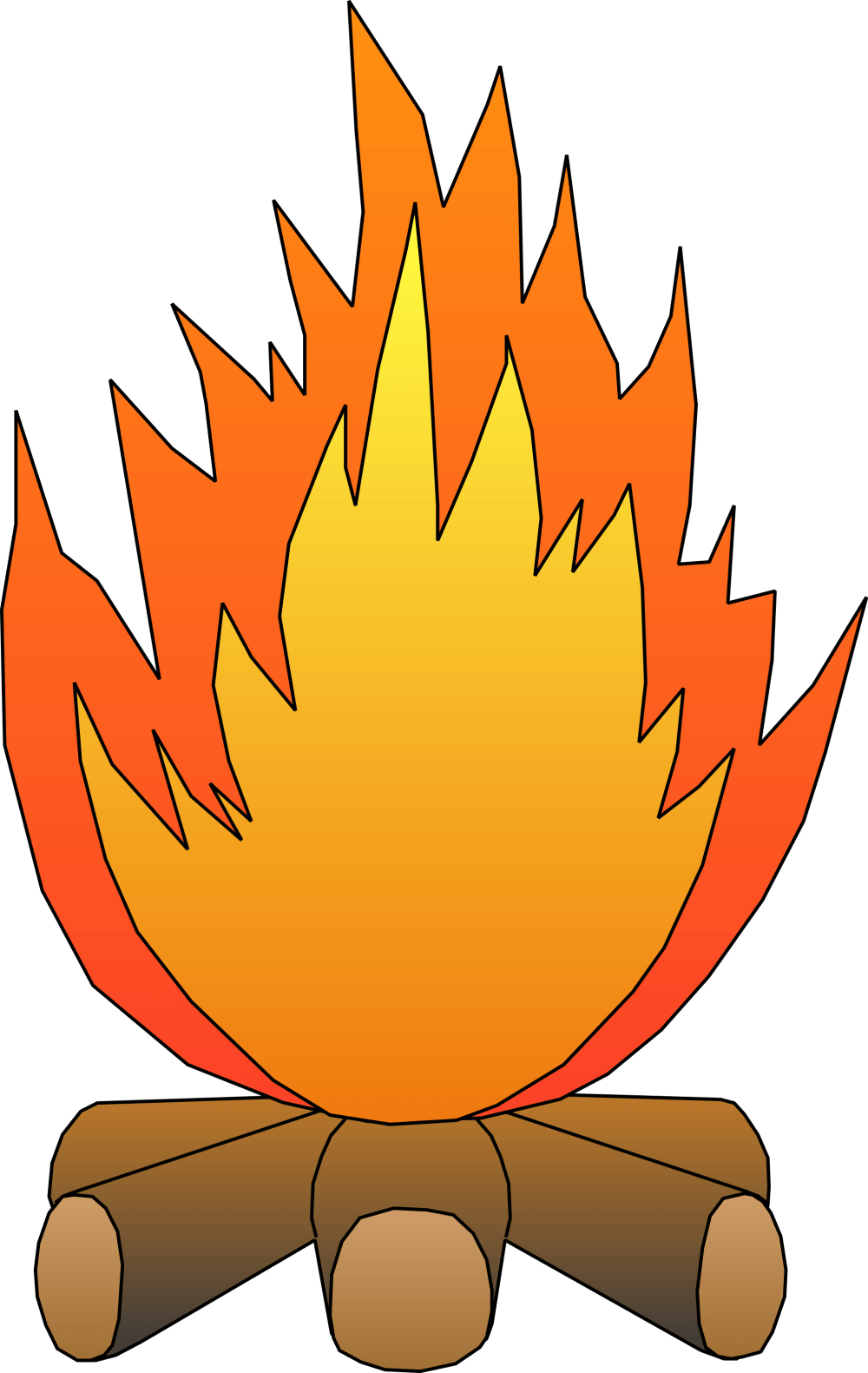 medium resolution of black and white fire clipart clipart panda free clipart images