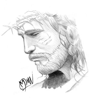 jesus tattoo drawing sketch hands praying tattoos christian drawings cliparts mary designs devil virgin portrait freetattoodesigns rosary christ face easy