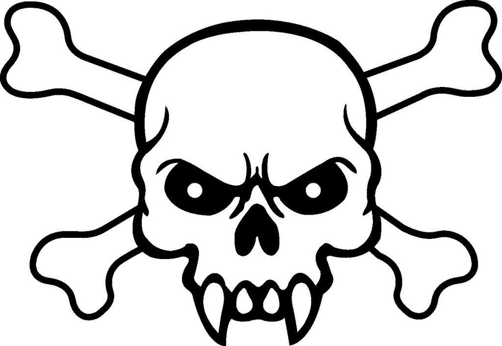 Картинки черепа с костями