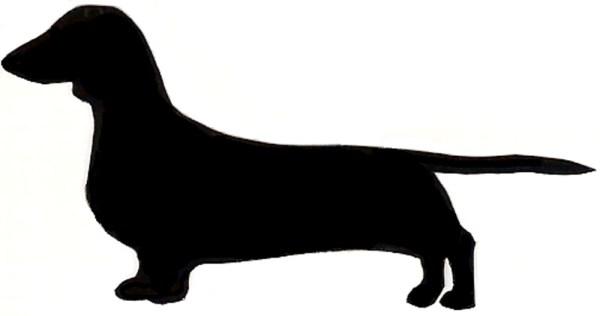 dachshund clip art
