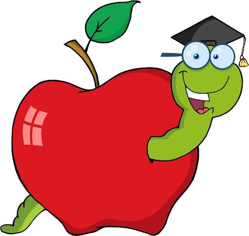 teacher apple clip art