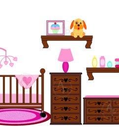 baby crib clipart [ 1500 x 1159 Pixel ]