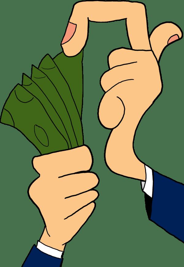 animated clip art money