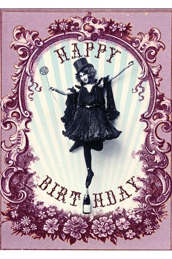 Happy Birthday Card Art