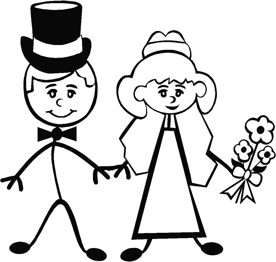 Images For Gt Bride And Groom Stick Figures