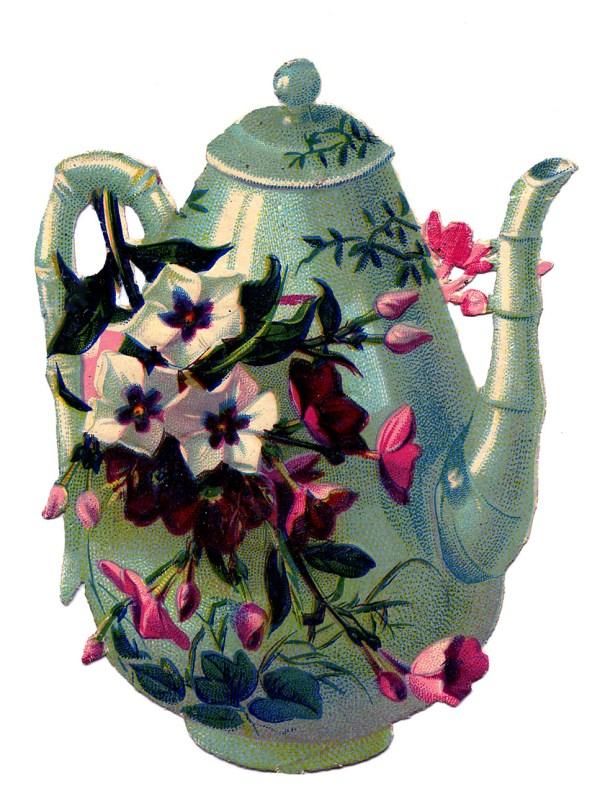 Vintage Flowers Clip Art
