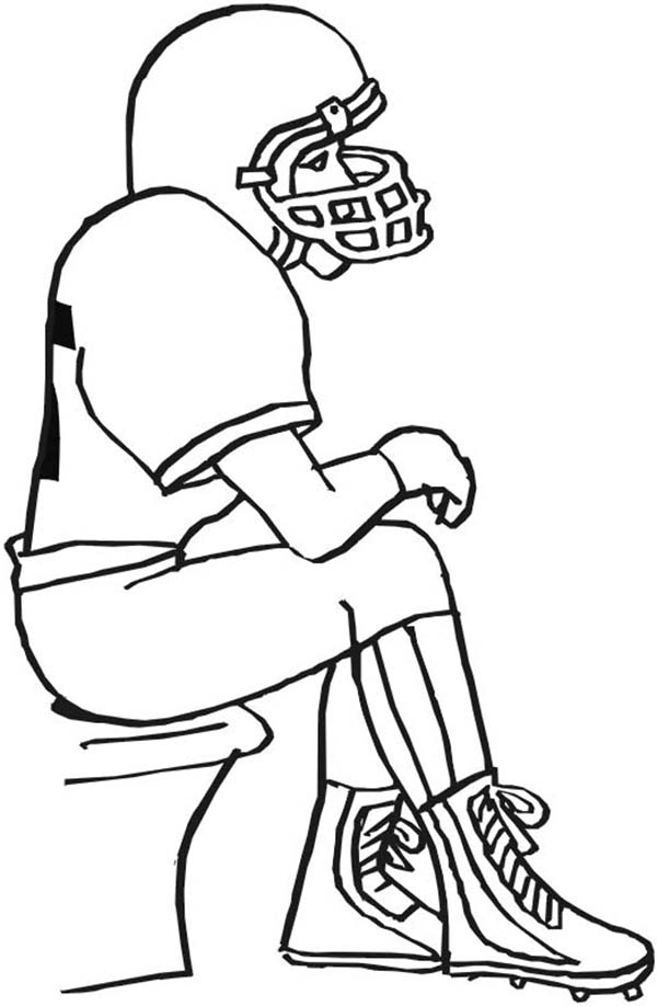 Bench Coloring Pages Sketch Coloring Page