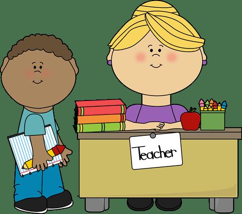 teachers teaching students