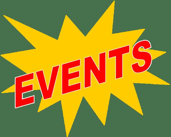 upcoming events clip art