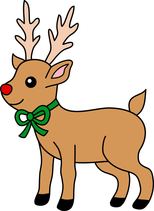 small resolution of reindeer clipart