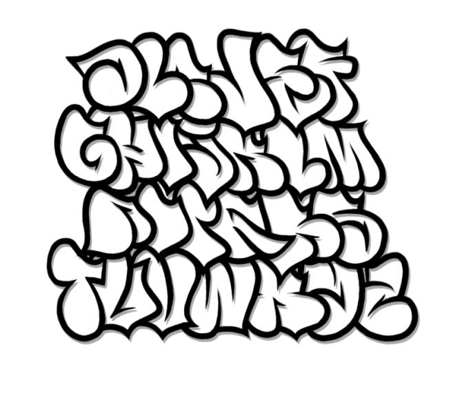 "Search Results for ""Abjad Graffiti Alphabet"""