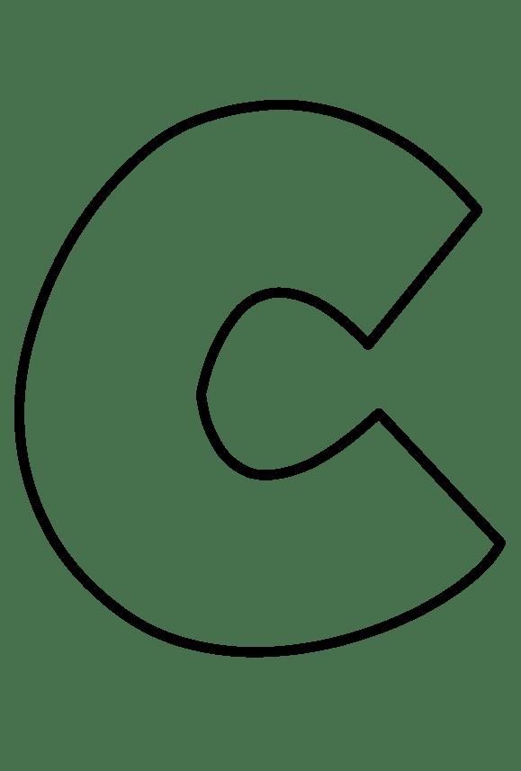 Resume Format: Letter C Outline