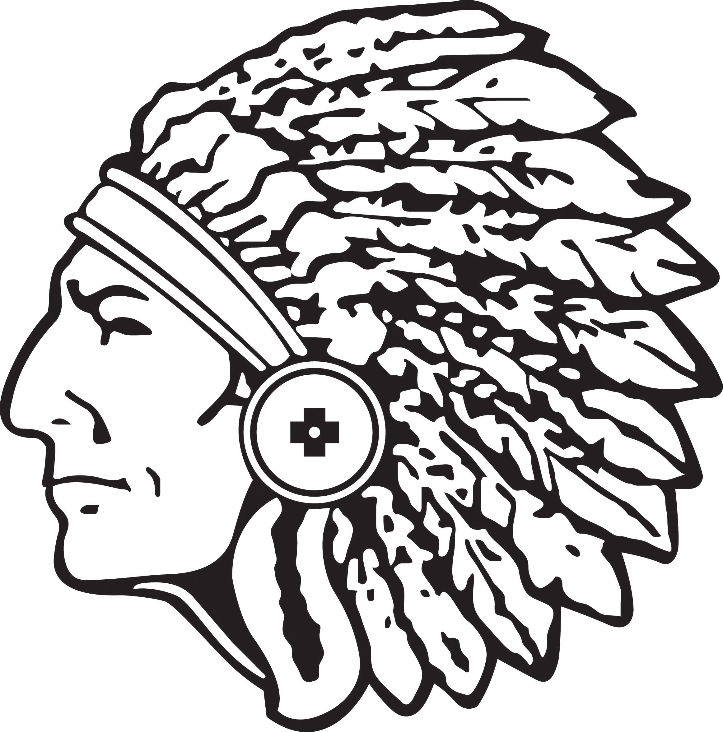Indian Head Clip Art