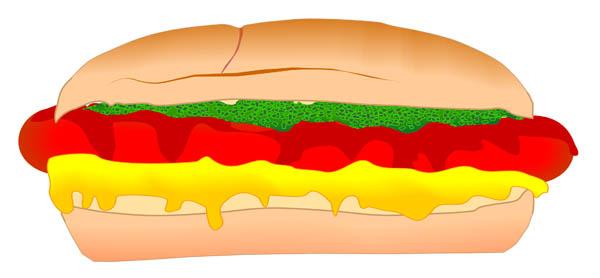 Hotdog Clip Art Cliparts Co