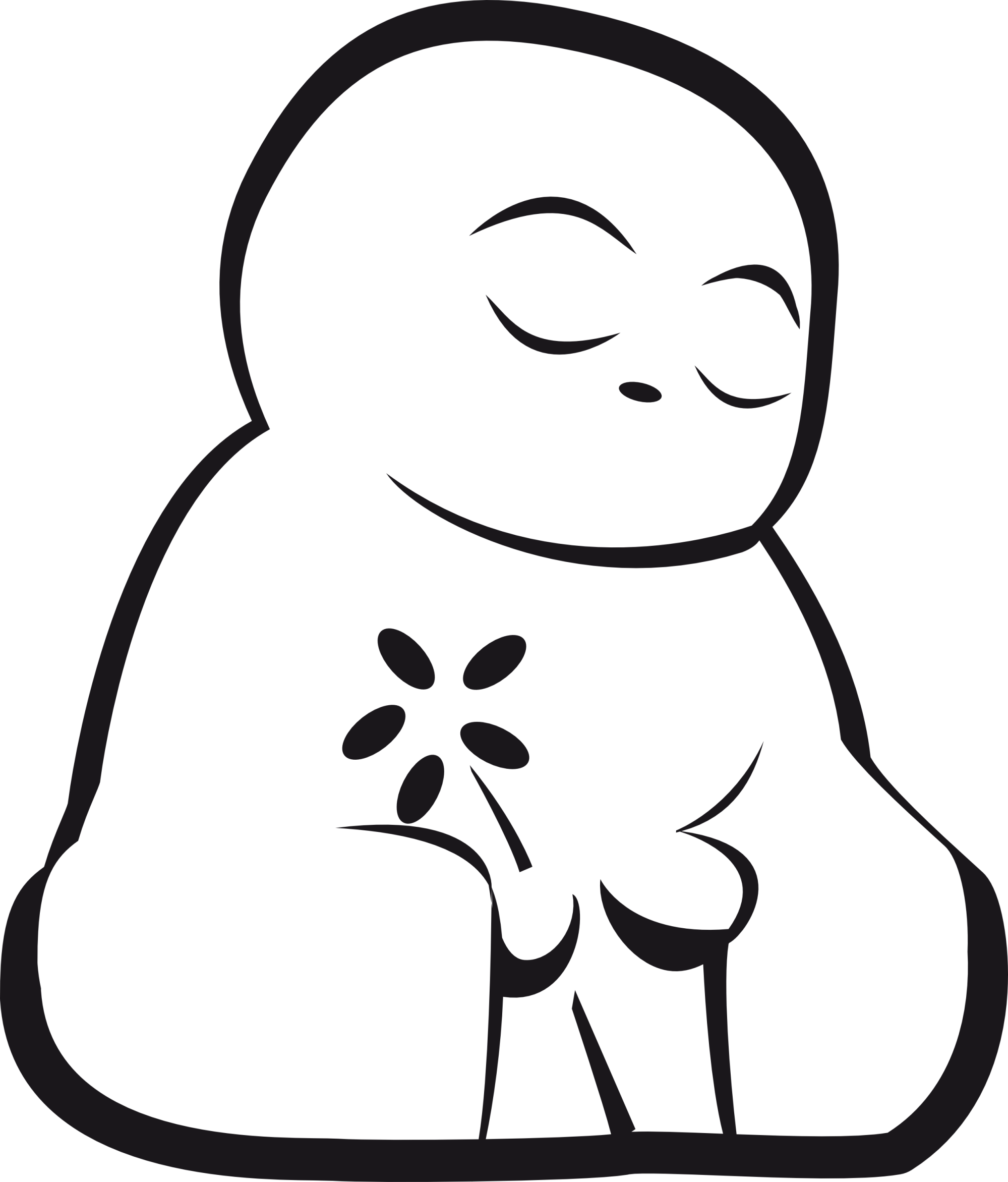 hight resolution of buddha clipart clipart best
