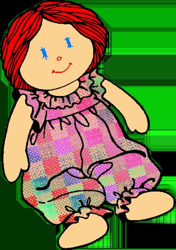 clip art doll