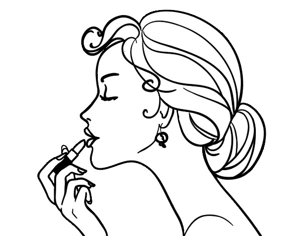 lips coloring pages  cliparts.co